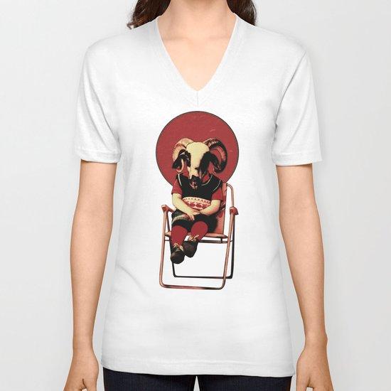 SIT TIGHT V-neck T-shirt