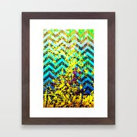 color Spatter set 3 Framed Art Print