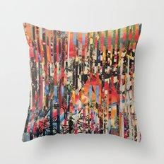 STRIPES 12 Throw Pillow