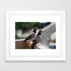 whats up Framed Art Print