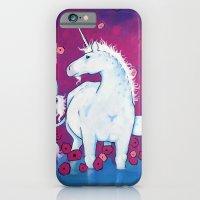 iPhone & iPod Case featuring UNICORN by Joshua James Stewart