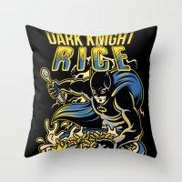Dark Knight Rises Throw Pillow