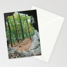 Redbud cave Stationery Cards