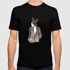 Black in Paris Mens Fitted Tee Black SMALL