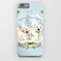 Snow Globe Bears iPhone 6 Slim Case