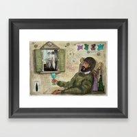 LE PROMESSE DI UN VOLTO Framed Art Print