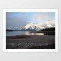 Wyoming - 2 Art Print
