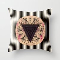 C.W. Iii I Throw Pillow