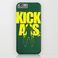 iPhone & iPod Case featuring KICK ASS by justjeff