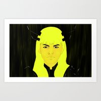 Illyana Rasputina - Magik v1 Art Print