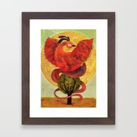 Pheonix Framed Art Print