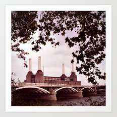 Pink Floyd Animal Art Print