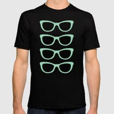 Sunglasses #5 Mens Fitted Tee SMALL Black