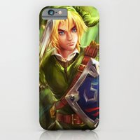 iPhone & iPod Case featuring Link - Legend of Zelda by Sanjin Halimic