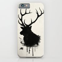 iPhone & iPod Case featuring Elk - Deer by Nicklas Gustafsson