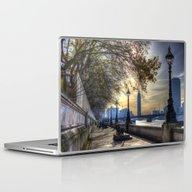 River Thames Path Laptop & iPad Skin
