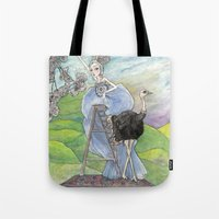 In  Her Dream...Picking … Tote Bag