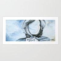 Windy Art Print