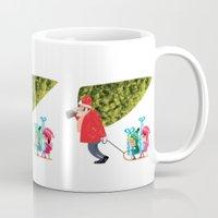 Buying The Christmas Tre… Mug
