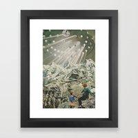 Loneliness Of White Framed Art Print