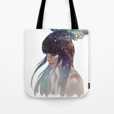 the darkness constellation Tote Bag
