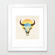 Big Sky  Framed Art Print