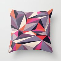 Diamonoid: Autumn Soiré… Throw Pillow