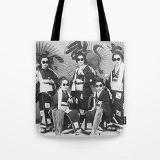 Lady Samurai Tote Bag