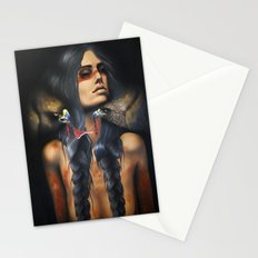 Running Eagle Stationery Cards