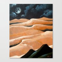 Desert Living Canvas Print