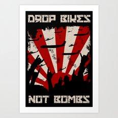 DROP BIKES Art Print