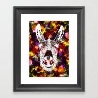 Wonky Donkey Flower  Framed Art Print