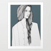 Nastya Art Print