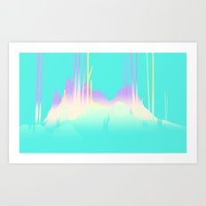 Landscape Study 03 Art Print