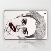 Miley with Red Lips Laptop & iPad Skin