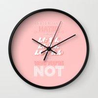 I Am Not A Robot ; Marina and the Diamonds Wall Clock