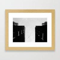 Homefromabove Framed Art Print