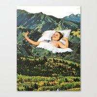 Rising Mountain Canvas Print