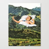 Rising Mountain Canvas Print