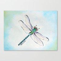 Dragofly Canvas Print