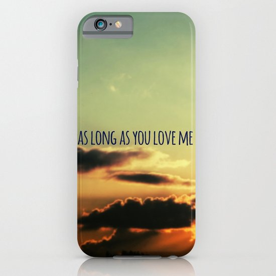 LOVE QUOTE iPhone & iPod Case