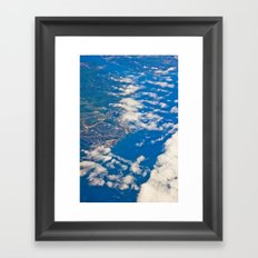 areal view Framed Art Print