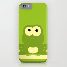 Minimal Frog Green iPhone 6 Slim Case