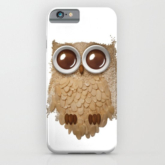 Owl Collage #6 iPhone & iPod Case
