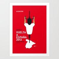 MY VUELTA A ESPANA MINIM… Art Print