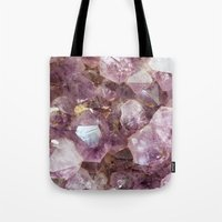 Amethyst And Gold Tote Bag