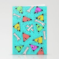 triangle Stationery Cards featuring Triangle by Jimmy Kid
