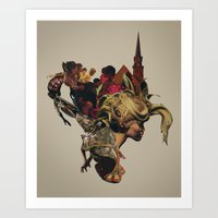 The Sirens Simply Vanish… Art Print