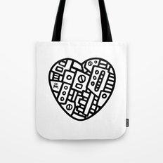 Iron heart (B&W Edition) - PM Tote Bag