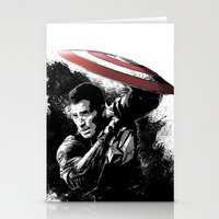 Steve Rogers: Shadow Edition Stationery Cards